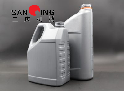 Made in China Jerry Can Double Station 5L Blow Molding Machine