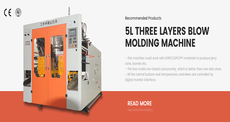 Knowledge of 5-liter six-mold high-speed rotary blow molding machine